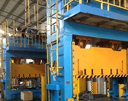 Prensa Hidráulica de 3m y 800Tn